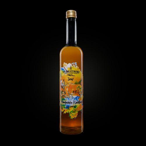 Dalmatinsky sirup mandarinka kamilka