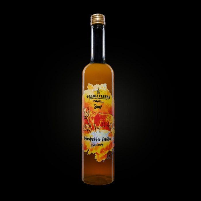 Dalmatinsky sirup mandarinka vanilka